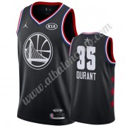 Camisetas NBA Baratas Golden State Warriors 2019 Kevin Durant 35# Negro All Star Game Swingman..